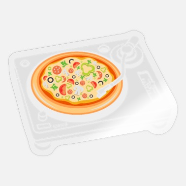 Scratch Pizza Scratch DJ - Sticker