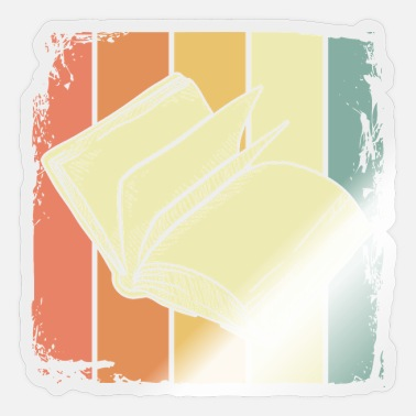 Bookworm books - Sticker