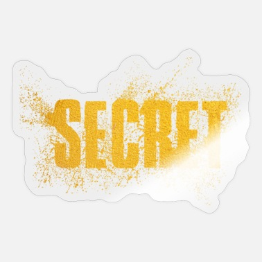 Secret Secret - Sticker