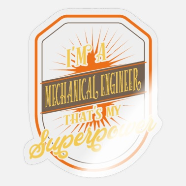 Mechanical Engineering Mechanical Engineer - mechanical engineer - Sticker