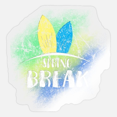 Spring Break Spring Break - Sticker