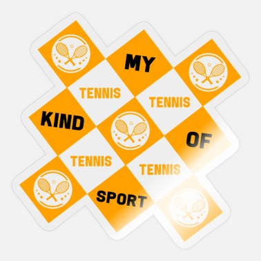 Longline Tennis sport - Sticker