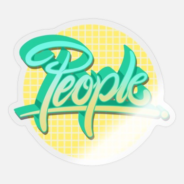 People people people - Sticker