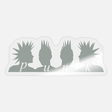 Sex Pistols Punk Heads - Sticker
