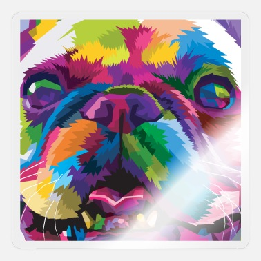 Cats And Dogs Collection Dog poster - Sticker