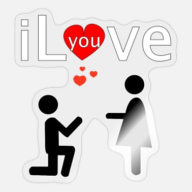 I Love i Love you - Sticker