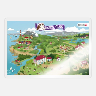 Schleich Horse Club Karte - Sticker