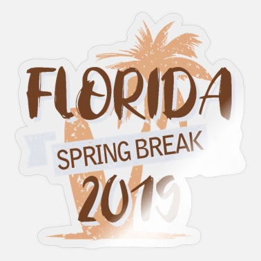 Spring Break Florida 2019 - Sticker