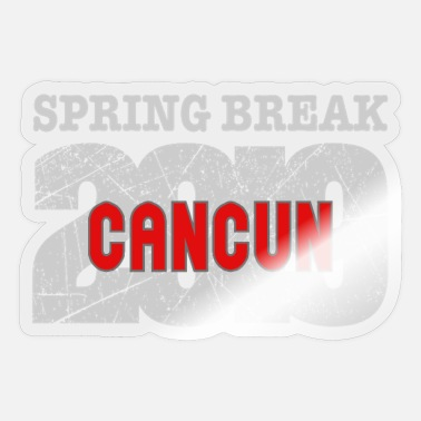 Spring Break Cancun 2019 - Sticker
