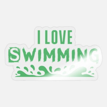Swim Swimming swimming swimming swimming - Sticker