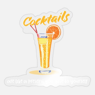 Liquor Alcohol liquor gift idea - Sticker