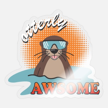 See Otter - Sticker