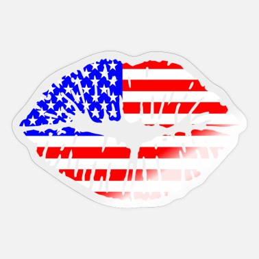 USA Kiss - Sticker