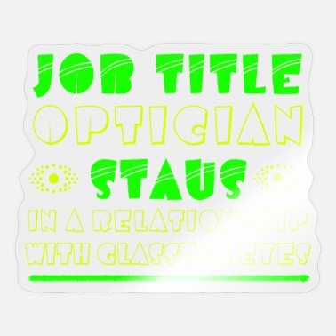 Ophthalmologist ophthalmologist - Sticker