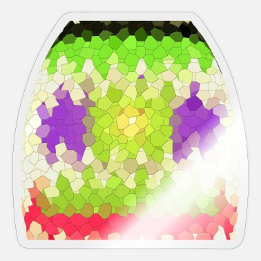 Octagon Octagon pattern, octagon pattern. - Sticker