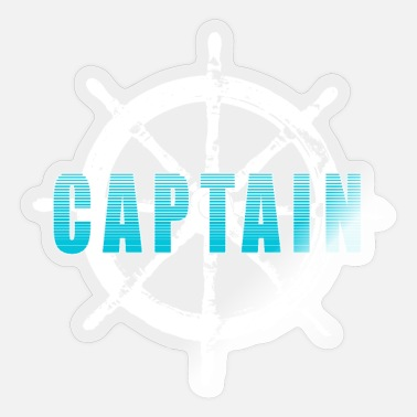 Captain Captain Captain - Sticker