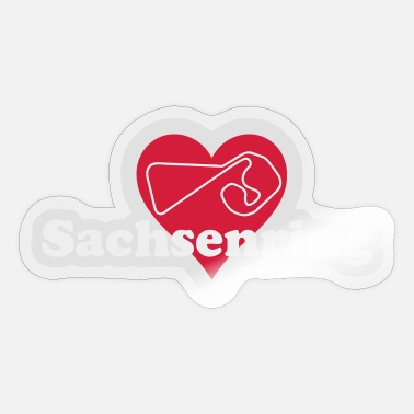 Sachsenring Sachsenring in Love - Sticker