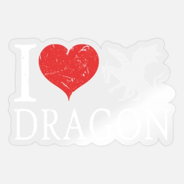 Dragons Dragon Dragon Dragon Dragon - Sticker