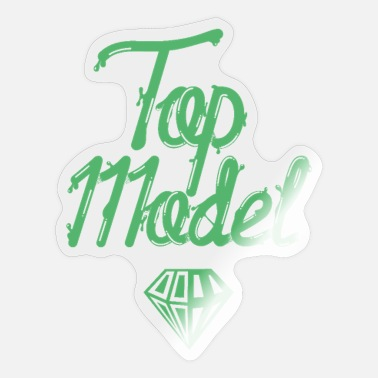Toppen Top Model - Sticker