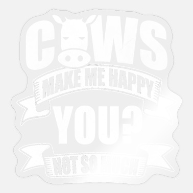 Cows Cow cows - Sticker