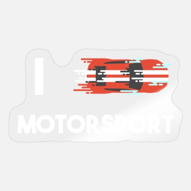 Motorsport Motorsport - Sticker