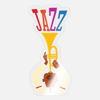 Jazz jazz - Sticker