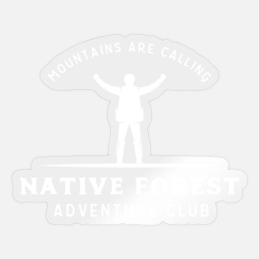 Alpine Club Adventure Club - Sticker