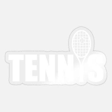 Longline tennis - Sticker
