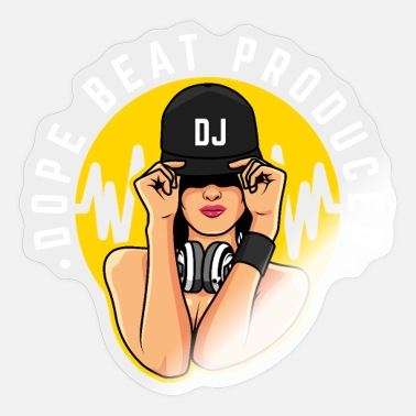 Deejay DJ Producer Gift Deejay Disc Jockey Beatmaker - Sticker
