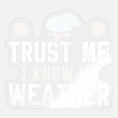 Weather Weather - Sticker