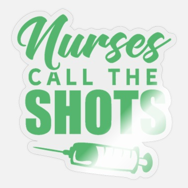 Medicine nurse nurse care nurse - Sticker