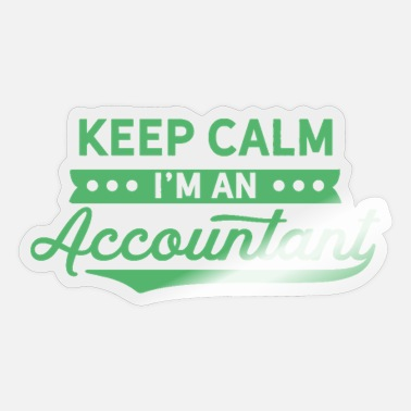 Accountant Accountant Accountant - Sticker