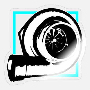 Autonaut Tuning car turbocharger - Sticker