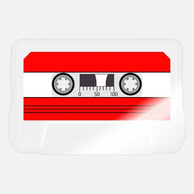 Audio Music cassette, audio cassette, SA90, audio cassette - Sticker