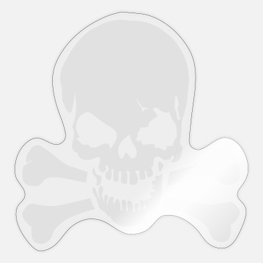 Skull And Crossbones Skull crossbones - Sticker
