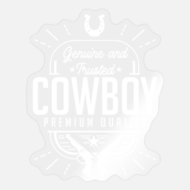 Cowboys cowboy - Sticker