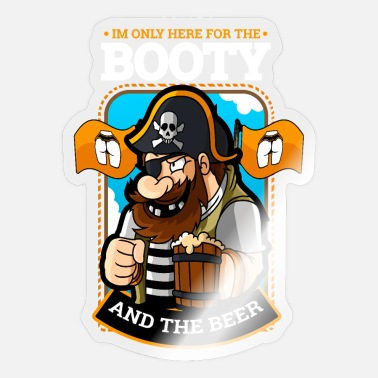 Pirate Memes Pirate gift loot pirate sword pirate meme - Sticker