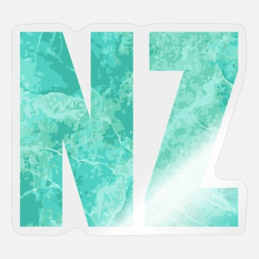 NZ New Zealand Ocean South Maori - Gift Idea - Sticker