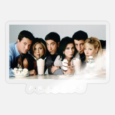 Tv Friends Charaktere Freundschaft - Sticker