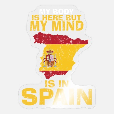 Home Country Spain home country gift - Sticker