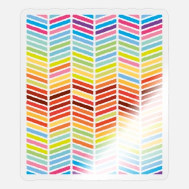 Monster Pattern stripes - Sticker