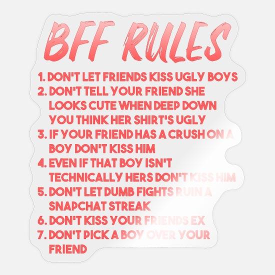 Der freundschaft regeln Die Freundschaft