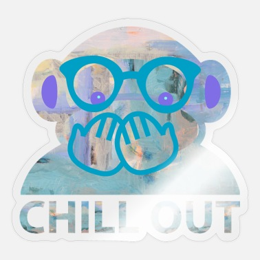 Chill Out chill out - Pegatina