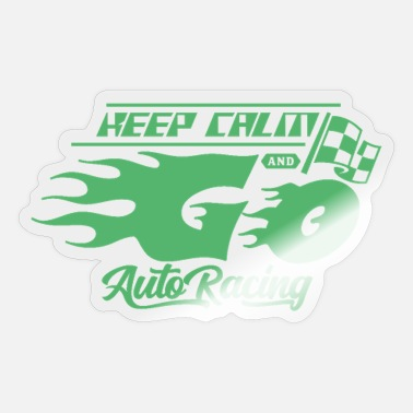 Best Racer racer - Sticker