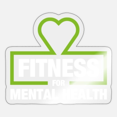 Fitness for Mental Health - Sticker