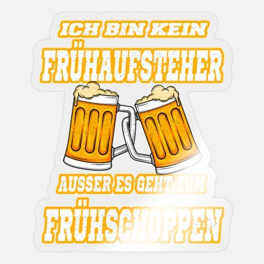 Party Bier Vatertag Geschenk - Sticker