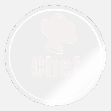Chef's Hat Keuken Chef Chef Chef Hat - Sticker