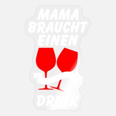 Uncork Wine drinker - Sticker