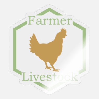 Stock Farmer stock - farmers stock - Sticker