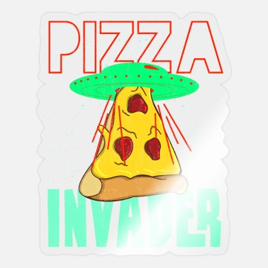 Invader Pizza Invader - Pegatina
